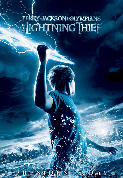 Percy Jackson & the Olympians: The Lightning Thief (2010/RUS/DVDRip)