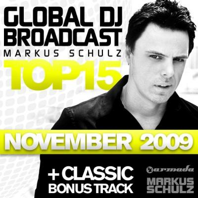 Markus Schulz - Global Dj Broadcast Top 15 (November 2009)
